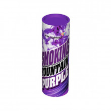 Цветной дым фиолетового цвета (Maxsem, 35-40 секунд)