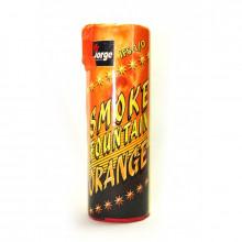 Цветной дым оранжевого цвета (Польша, 35-40 секунд)